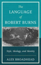 Broadhead, Alex The Language of Robert Burns