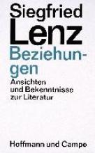 Lenz, Siegfried Beziehungen