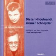 Hildebrandt, Dieter Die Kabarettlegende 03. CD