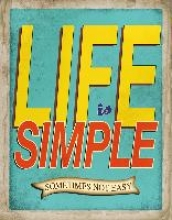 Life is Simple - Sometimes not Easy Blankbook