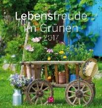 Paxmann, Christine Lebensfreude im Grnen 2017. Postkartenkalender