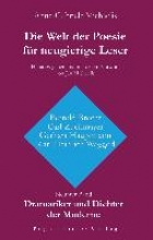 Michaelis, Anne-Gabriele Die Welt der Poesie für neugierige Leser (9): Dramatiker und Dichter der Moderne (Bertold Brecht, Carl Zuckmayer, Gerhart Hauptmann, Karl Heinrich Waggerl)