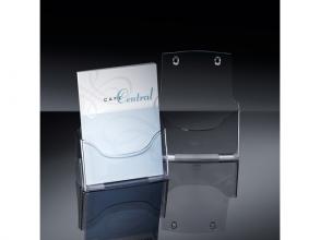 , folderhouder Sigel tafelmodel A4 transparant acryl 1 vak