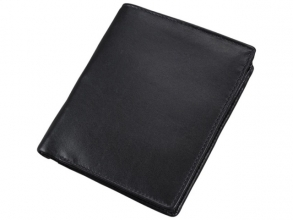 , Portefeuille Alassio met RFID Document Safe, zwart          nappaleer, 10,5x12,5cm