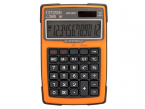 , Calculator Citizen outdoor desktop Business Line, oranje