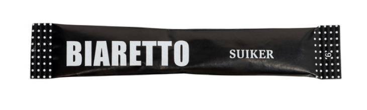 , Suikersticks Biaretto 4 gram 600 stuks