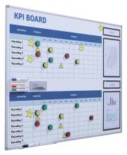, Kpi bord + starterkit visual management 90x120cm