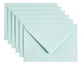 , Envelop Papicolor C6 114x162mm zeegroen
