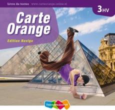 Marjo  Knop Carte Orange 3 havo/vwo Livre de textes Edition Navigo