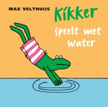 Max  Velthuijs Kikker speelt met water