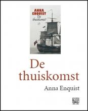 Anna  Enquist De thuiskomst (grote letter) - POD editie
