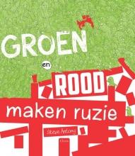 Steve  Antony Groen en rood maken ruzie