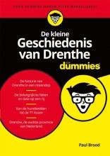 Paul  Brood De kleine Geschiedenis van Drenthe voor Dummies