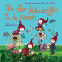 Ron Schröder Marianne Busser, De vier kaboutertjes in de zomer