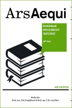 , Burgerlijk procesrecht 2021/2022