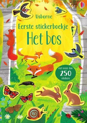 ,Eerste stickerboekje Het bos