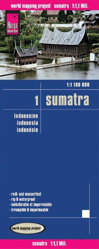 ,Indonesien Sumatra 1 : 1 100 000