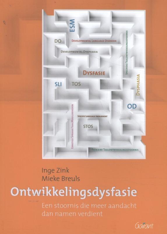 Inge Zink, Mieke Breuls,Ontwikkelingsdysfasie