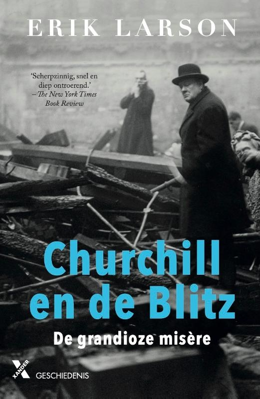 Erik Larson,Churchill en de Blitz