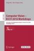 ,Computer Vision - ECCV 2016 Workshops