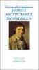 Moritz, Karl Philipp,Dichtungen und Schriften zur Erfahrungsseelenkunde