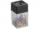 ,paperclips Alco 42x42x70mm hoekig magnetisch zwart doos a   10 box