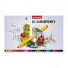 ,<b>Viltstift Bruynzeel Expression super points blik à 25 stuks assorti</b>