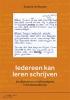 Suzanne van Norden,Iedereen kan leren schrijven
