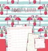 ,<b>family planner flamingo</b>