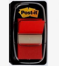 , Indextabs 3M Post-it 680 25.4x43.2mm rood