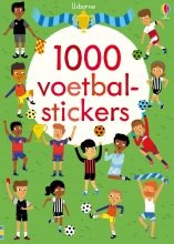 1000 Voetbal stickers