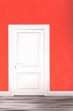 Red Door Lined Journal