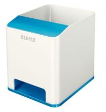 , Pennenhouder Leitz WOW wit/blauw