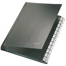 , Bureaumap Leitz A-Z hardboard gewolkt