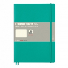 , Leuchtturm notitieboek composition soft blanco emerald