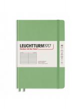 Lt361582 , Leuchtturm notitieboek medium pastel groen lijn