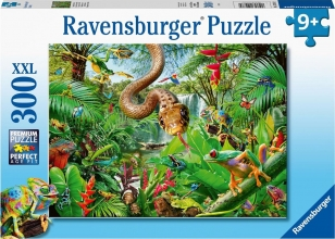 Rav-129782 , Puzzel reptielen resort ravensburger 300 xxl 9+