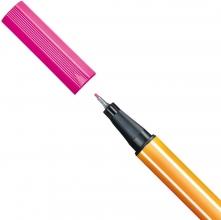 , Fineliner STABILO point 88/056 neon roze