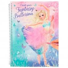 0011051 a , Create your fantasy model kleurboek ballet
