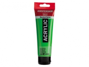 , Talens amsterdam acrylverf tube 120 ml briljantgroen 605