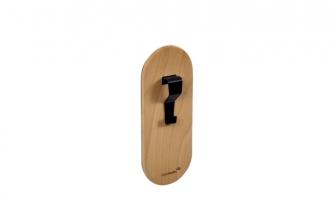 , Whiteboard papierhaak Legamaster hout 2stuks