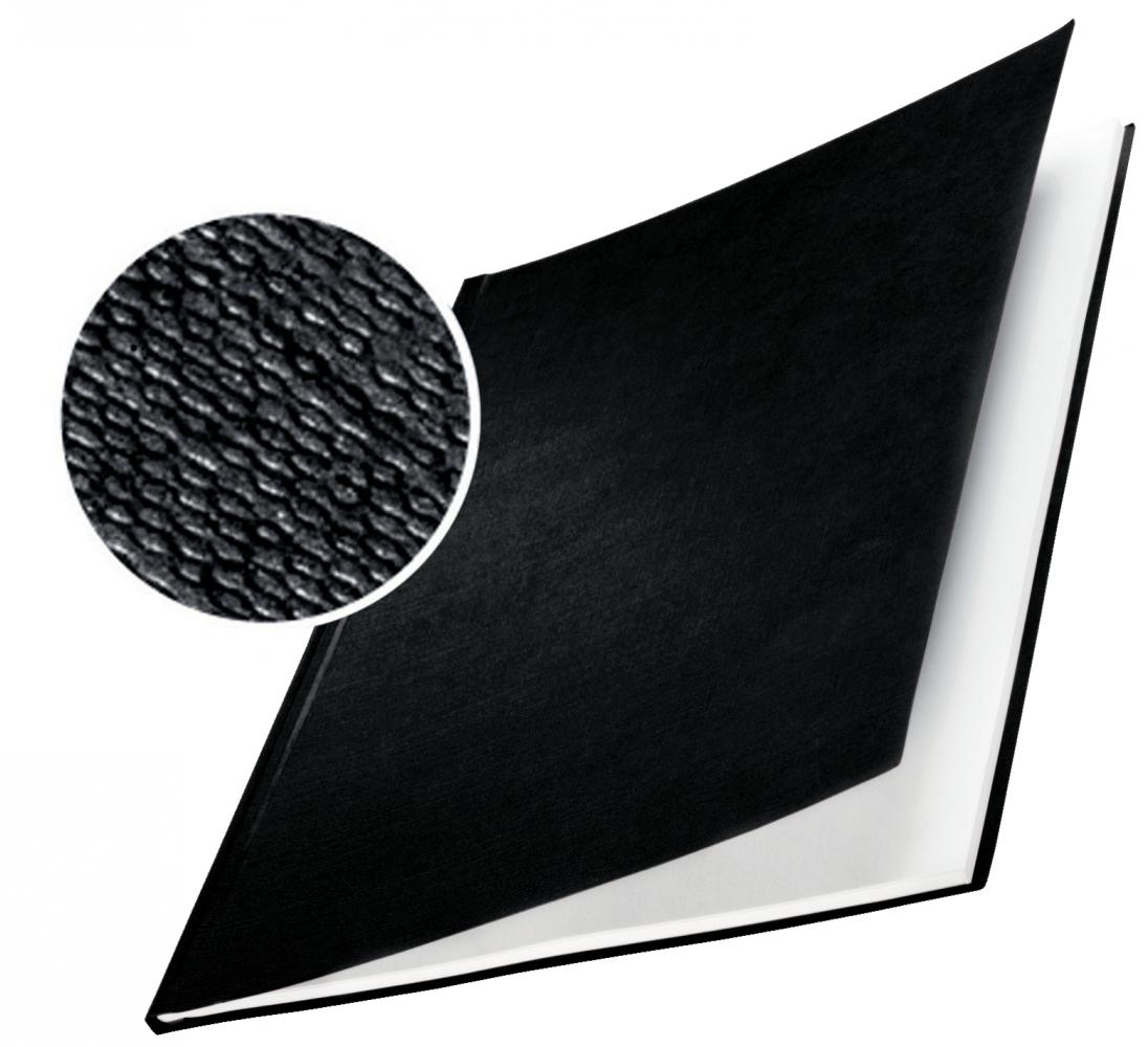 ,Inbindomslag Leitz 10.5mm harde kaft zwart