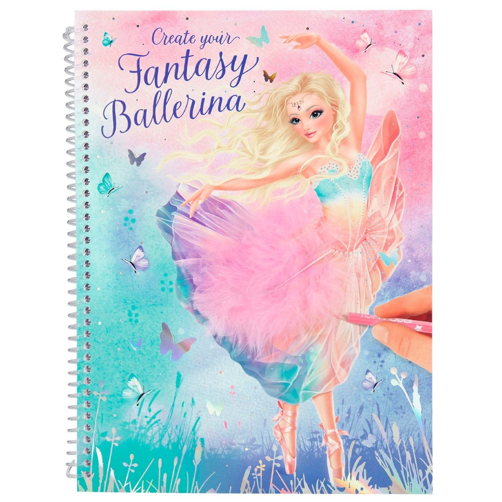 0011051 a,Create your fantasy model kleurboek ballet