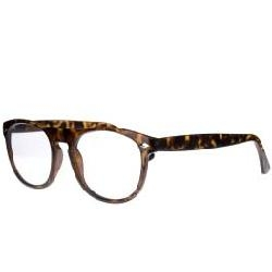 Tcd002,Leesbril icon matt demi, clear lens +1,50