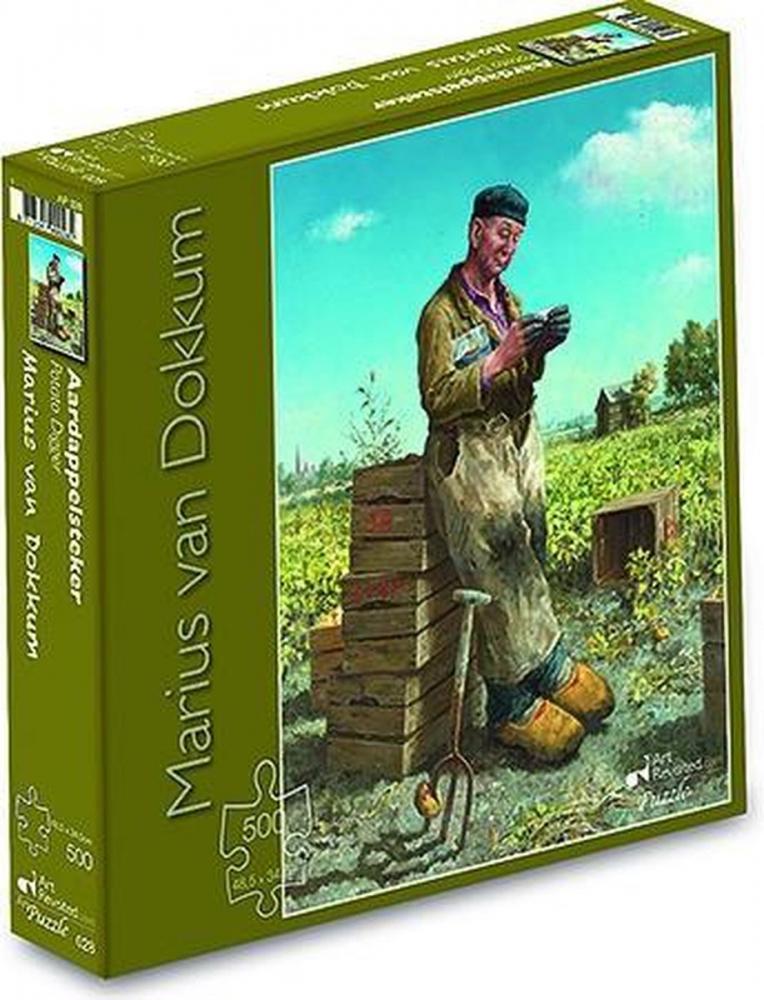 ,Marius van Dokkum - Aardappelsteker  - Puzzel 500 stukjes