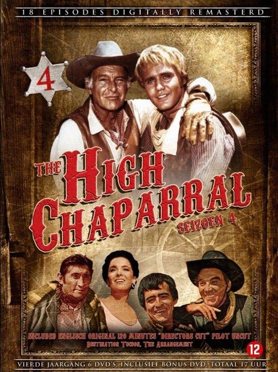 ,HIGH CHAPARRAL  BOX 4 (6 DVD)