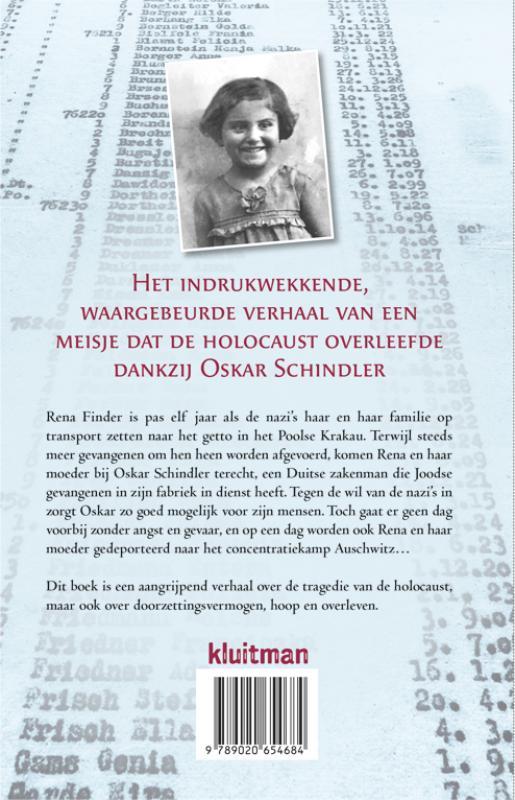 Rena Finder, Joshua M. Greene,Een meisje op Schindler`s list.