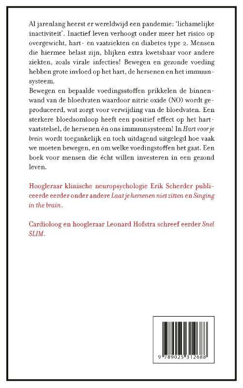 Erik Scherder, Leonard Hofstra,Hart voor je brein