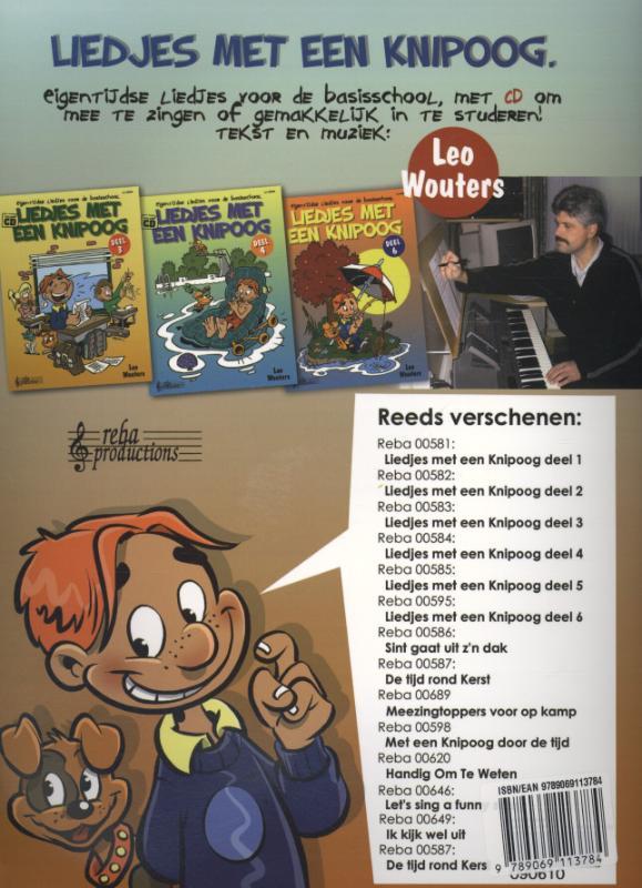 Leo Wouters,Meezingtoppers voor op Schoolkamp