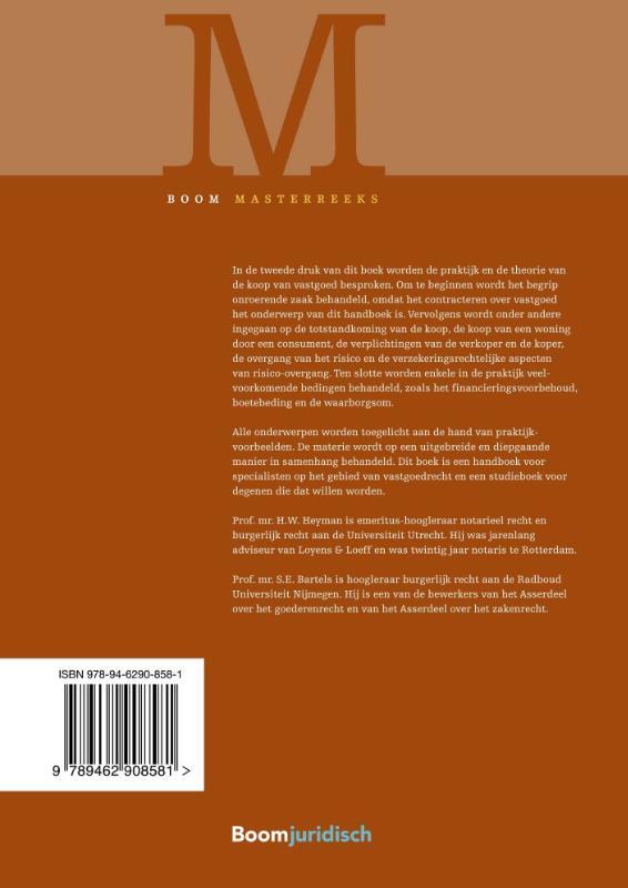 S.E. Bartels, H.W. Heyman,Vastgoedtransacties